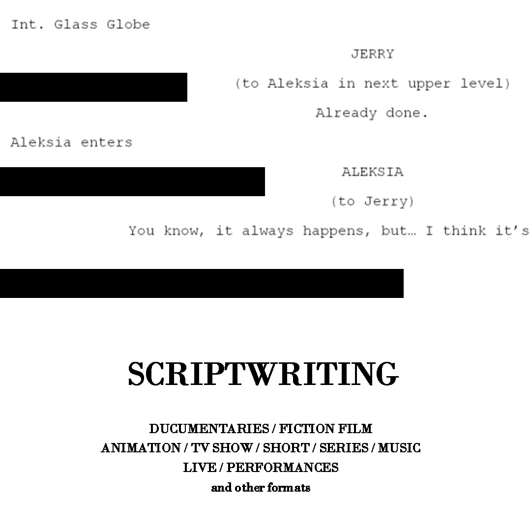 Scriptwriting Services