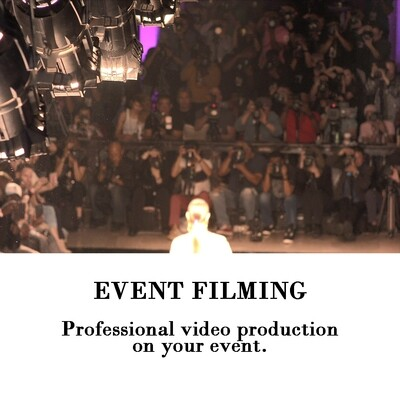 Event Filming Service