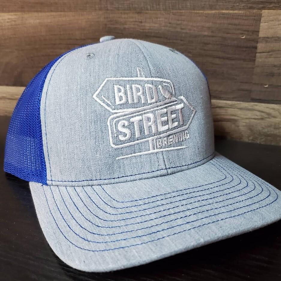 Bird Street Hat  (Blue/Grey)