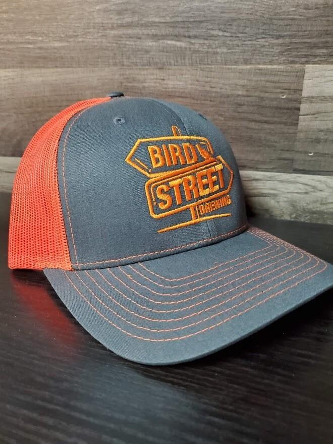 Bird Street Hat  (Orange)