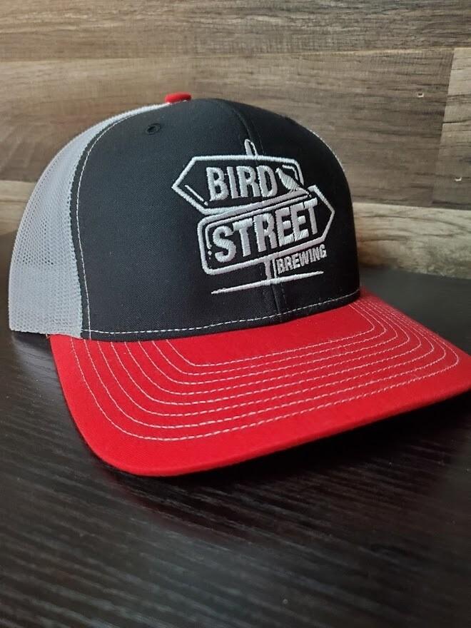 Bird Street Hat  (Red)