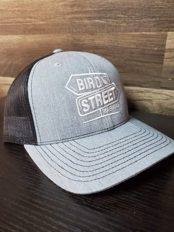 Bird Street Hat  (Grey)