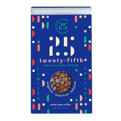 Counter Culture Coffee 25th Anniversary Blend