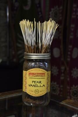 Pear Vanilla Incense Bundles- 30 sticks