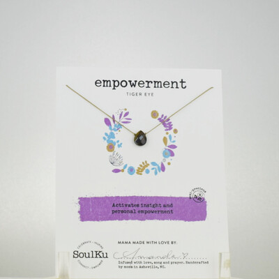 Tiger Eye Empowerment Necklace