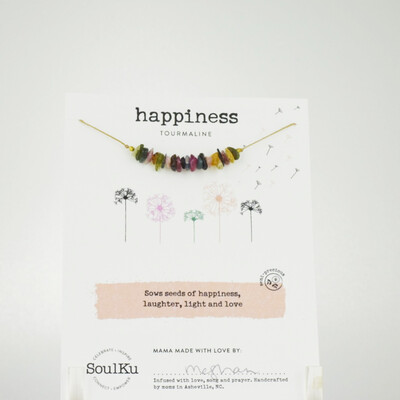 Tourmaline Happiness Necklace