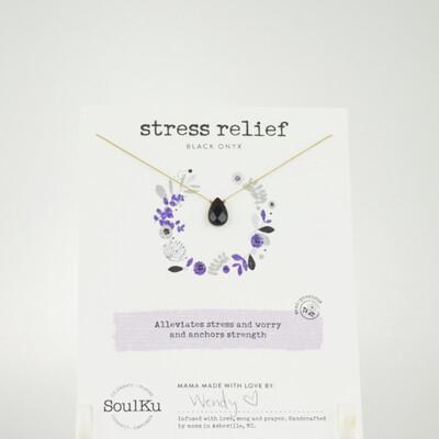 Onyx Stress Relief Necklace