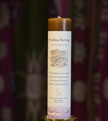 Problem Solving Reiki Energy Charged Candle