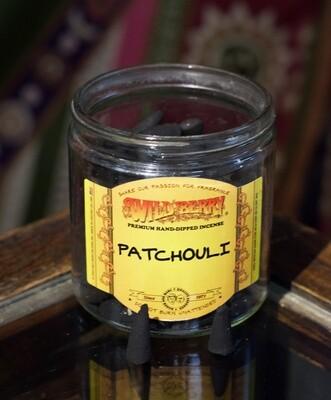 Patchouli Incense Cones- 10 Cones