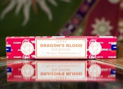 Satya Dragon's Blood Incense Sticks (15 grams)