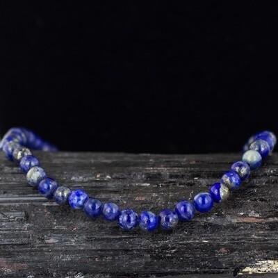 Lapis Energy Bead Bracelet