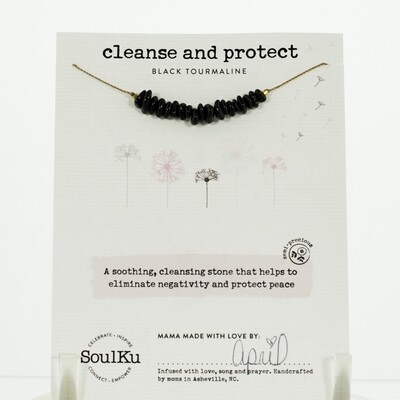 Black Tourmaline Cleanse and protect