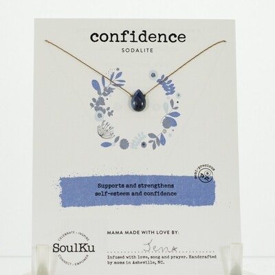 Sodalite Confidence Necklace