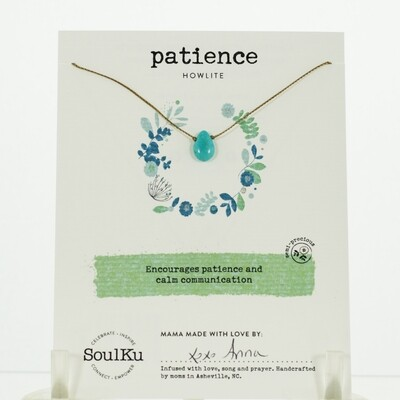 Howlite Patience Necklace