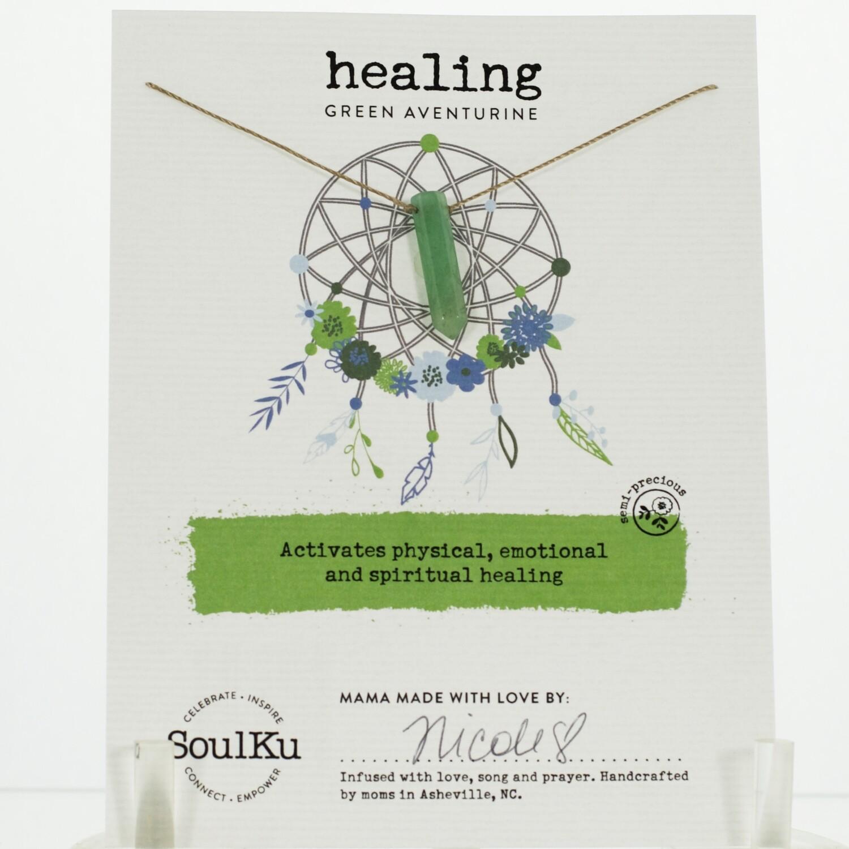 Green Aventurine Healing Necklace