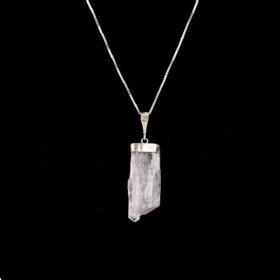 Kunzite Point Necklace