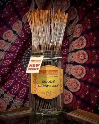 Orange Creamsicle Incense Bundles- 10 Sticks