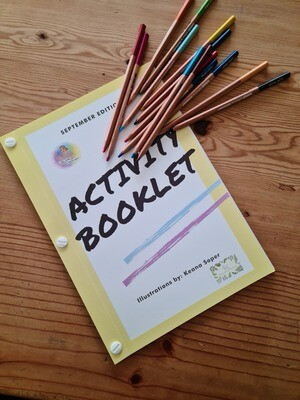 Activity Book - Outer Space