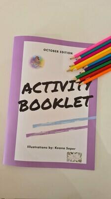 Activity Book - Halloween