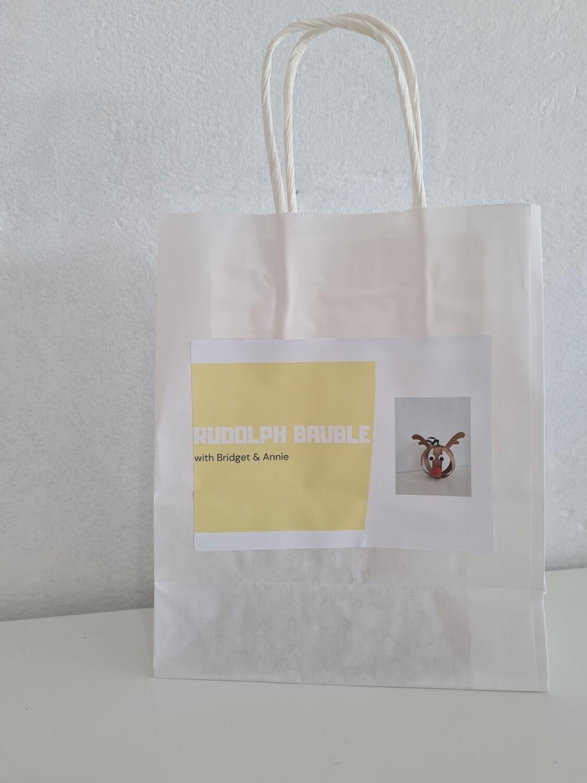Craft Kit - Rudolph Bauble
