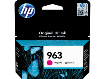 HP # 963 MAGENTA INK CARTRIDGE FOR OFFICEJET PRO 9000 SERIES (PAGE YIELD 700)