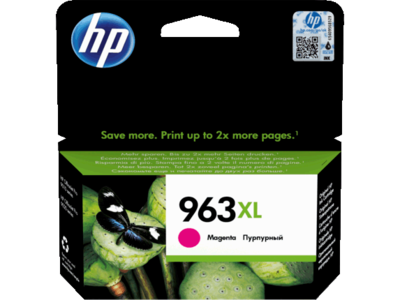 HP # 963XL HIGH YIELD MAGENTA INK CARTRIDGE FOR PRO 9000 SERIES (PAGE YIELD 1600)
