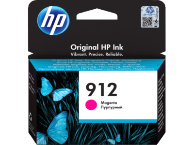 HP # 912 MAGENTA INK CARTRIDGE FOR OFFICEJET PRO 8000 SERIES (PAGE YIELD 315)