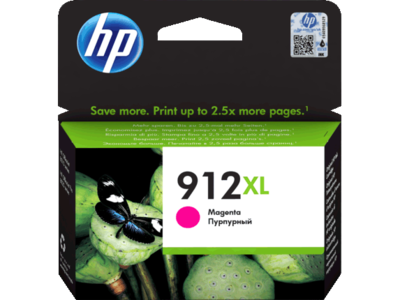 HP # 912XL HIGH YIELD MAGENTA INK CARTRIDGE FOR OFFICEJET PRO 8000 SERIES (PAGE YIELD 825)