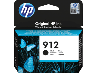 HP # 912 BLACK INK CARTRIDGE FOR OFFICEJET PRO 8000 SERIES (PAGE YIELD 300)