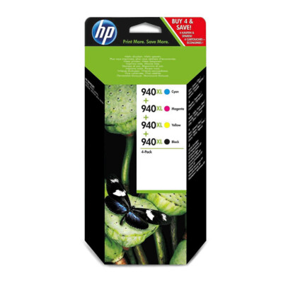 HP # 940XL INK CARTRIDGE COMBO PACKS