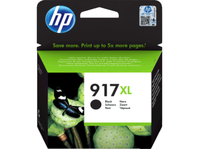 HP # 917XL EXTRA HIGH YIELD BLACK INK CARTRIDGE FOR PRO 8000 SERIES (PAGE YIELD 1500)