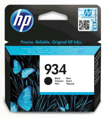 HP 934 BLACK INK CARTRIDGE FOR OFFICEJET PRO 6830 (400 PAGE YIELD)
