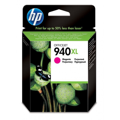 HP #940XL MAG PIGMENT INK CART O/J Pro8000/8500 1400pgs @5%