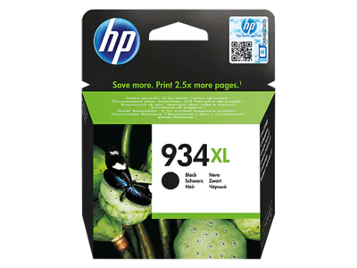 HP 934XL BLACK INK CARTRIDGE FOR OFFICEJET PRO 6230 (1000 PAGE YIELD)