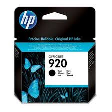HP 920 Black Officejet Ink Cartridge 420 pages @ 5%