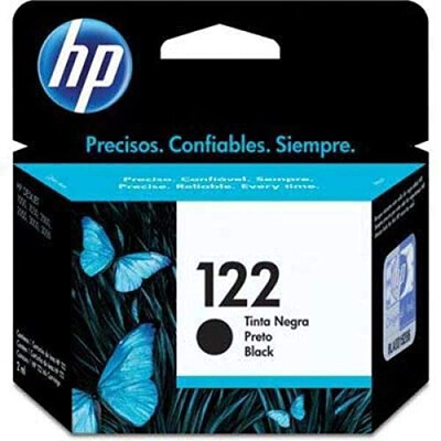 HP 122 BLACK INK CARTRIDGE FOR DESKJET 1000 J110 SERIES (190 PAGE YIELD)