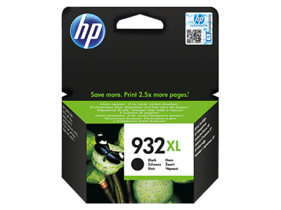 HP #932XL BLACK OFFICEJET INK CARTRIDGE