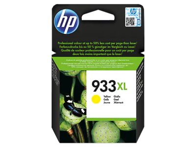 HP 933XL High Yield Yellow Original Ink Cartridge (825 pages) (CN056AE) (CN056AE)