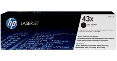 HP LASERJET 9040 BLACK PRINT CARTRIDGE WITH SMART TECHNOLOGY CONTAINS TONER AND DEVELOPER. APPROXIMATE CARTRIDGE YIELD 30 000 PAGES BASED ON 5% COVERAGE.
