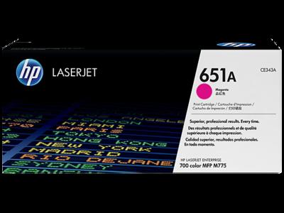 HP 651A MAGENTA LJ TONER FOR MFP M775  YIELD 16000