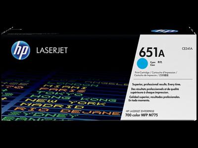 HP 651A CYAN LJ TONER FOR MFP M775  YIELD 16000