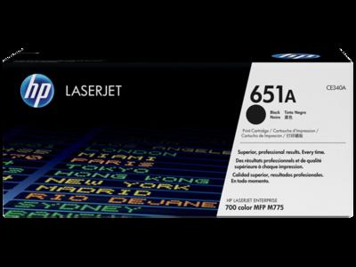 HP 651A BLACK LJ TONER FOR MFP M775  YIELD 13500