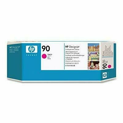 HP No. 90 Magenta Printhead and Cleaner  (C5056A)
