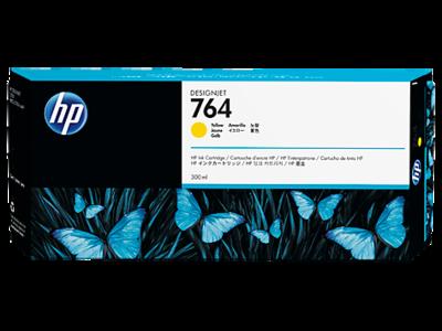 HP No. 764 300-ml Yellow Ink Cartridge 300ml (C1Q15A)