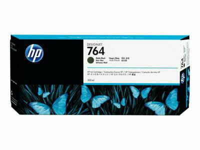 HP No. 764 300-ml Matte Black Ink Cartridge 300ml (C1Q16A)