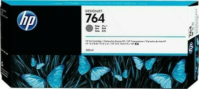 HP No. 764 300-ml Gray Ink Cartridge 300ml (C1Q18A)