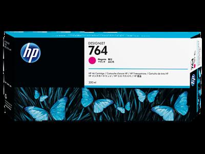 HP No. 764 300-ml Magenta Ink Cartridge 300ml (C1Q14A)