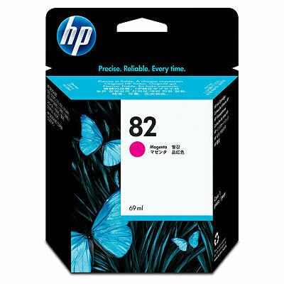 HP No. 82 Ink Cartridge Magenta 69ml  (C4912A)
