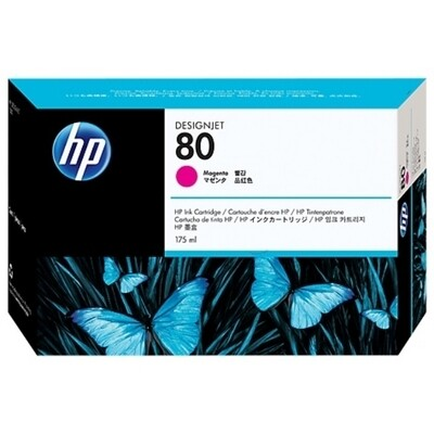 HP No. 80 Ink Cartridge Magenta 175ml