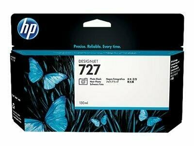 HP No. 727 130ml Photo Black Ink Cartridge (B3P23A)